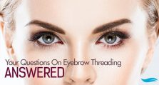 Your Questions On Eyebrow Threading, Answered