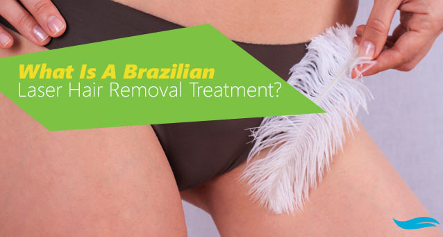 What Is A Brazilian Laser Hair Removal Treatment? | Woman in bikini | Jiva Spa Toronto anti aging facials beauty spa salon skin rejuvenation medispa