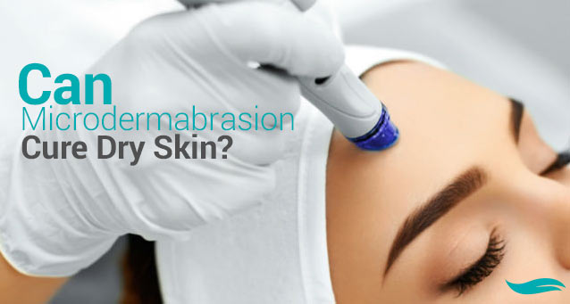 Can Microdermabrasion Cure Dry Skin? | Woman receiving microdermabrasion treatment | Jiva Spa Toronto anti aging facials beauty spa salon skin rejuvenation medispa