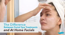 The Difference Between Facial Spa Treatments and At Home Facials