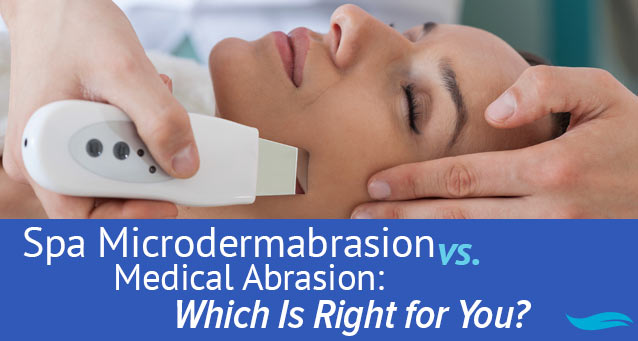 Spa Microdermabrasion vs Medical Abrasion: Which Is Right For You | Lady receiving microdermabrasion on face | Jiva Spa Toronto anti aging facials beauty spa salon skin rejuvenation medispa
