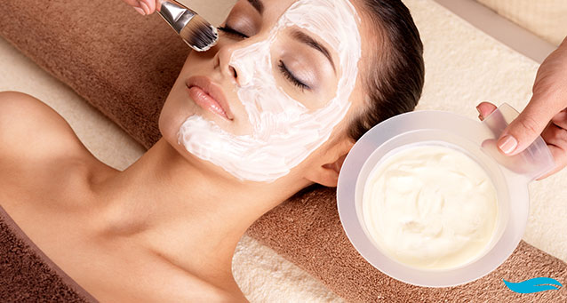 facilas and | face having three different colours | Jiva Spa Toronto anti aging facials beauty spa salon skin rejuvenation medispa