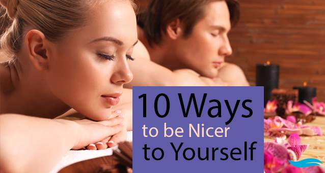 10 Ways to be Nicer to Yourself | guy and lady having a relaxation time | Jiva Spa Toronto anti aging facials beauty spa salon skin rejuvenation medispa
