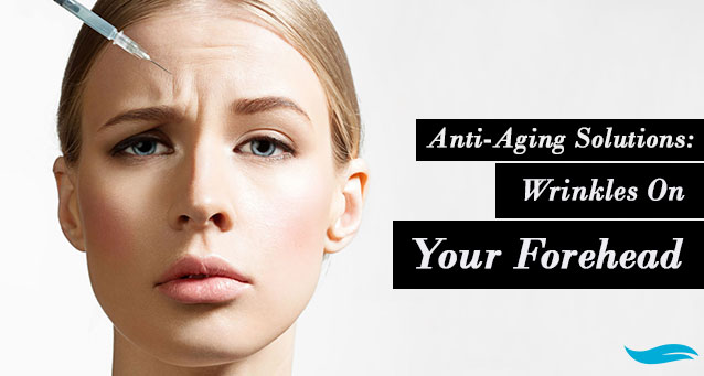 Anti-Aging Solutions: Wrinkles On Your Forehead | lady flapping her hair in front of the sun | Jiva Spa Toronto anti aging facials beauty spa salon skin rejuvenation medispa