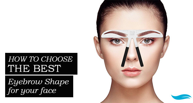 How To Choose The Best Eyebrow Shape For Your Face | Jiva Spa Toronto anti aging facials beauty spa salon skin rejuvenation medispa
