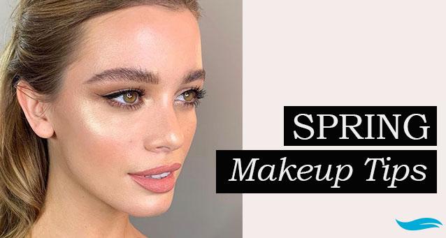 Spring Makeup Tips | Jiva Spa Toronto anti aging facials beauty spa salon skin rejuvenation medispa