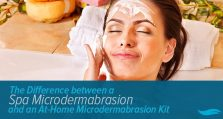 The Difference between a Spa Microdermabrasion and an At-Home Microdermabrasion Kit